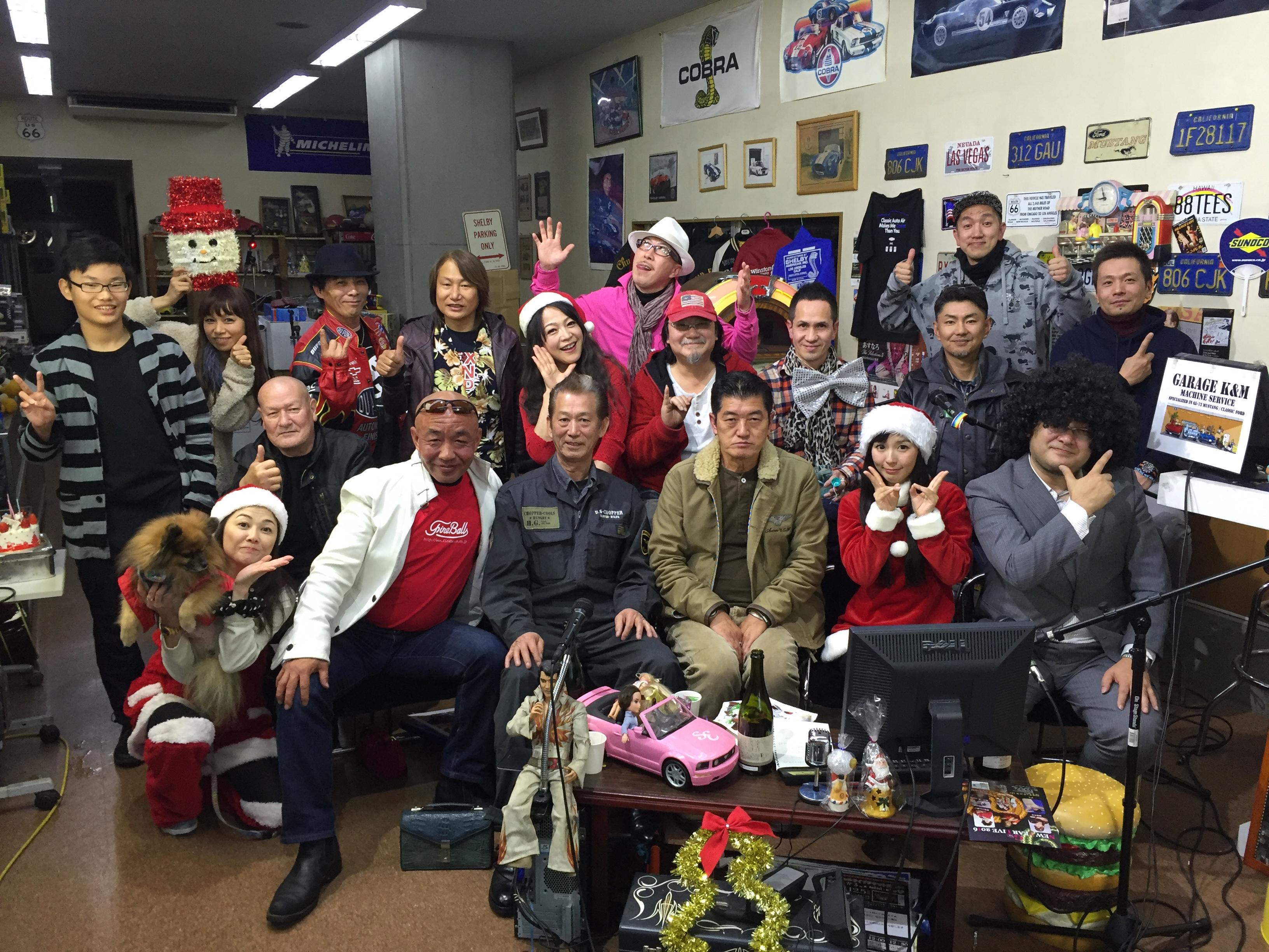 『湾岸ベース』#229(2015年12月24日放送分)
